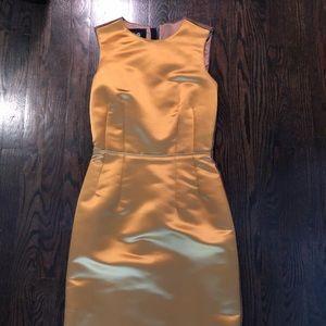 Dolce & Gabbana Satin Two tone dress
